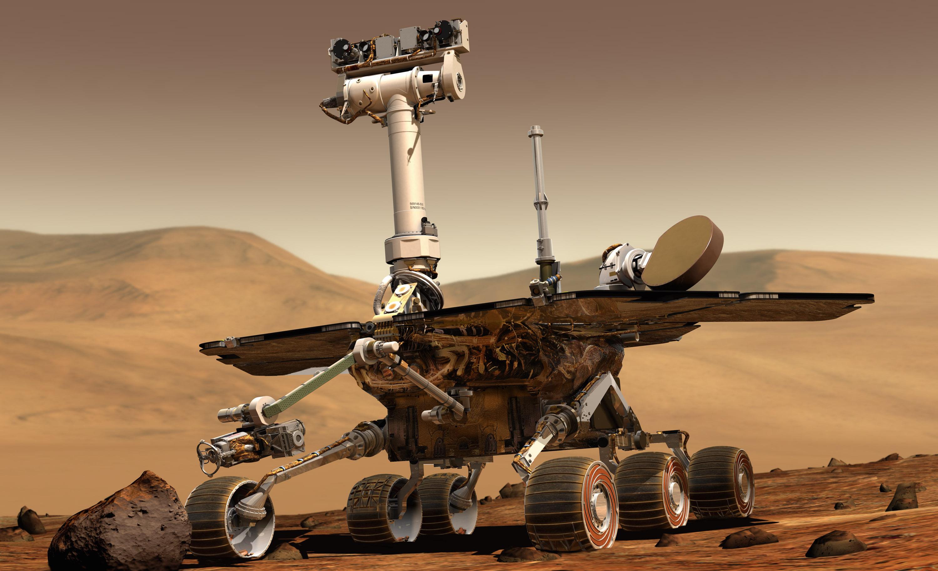 mars rover landing - HD2999×1828
