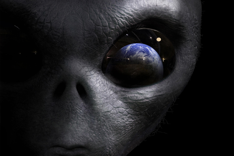 Днем рождения, картинки нло пришельцев