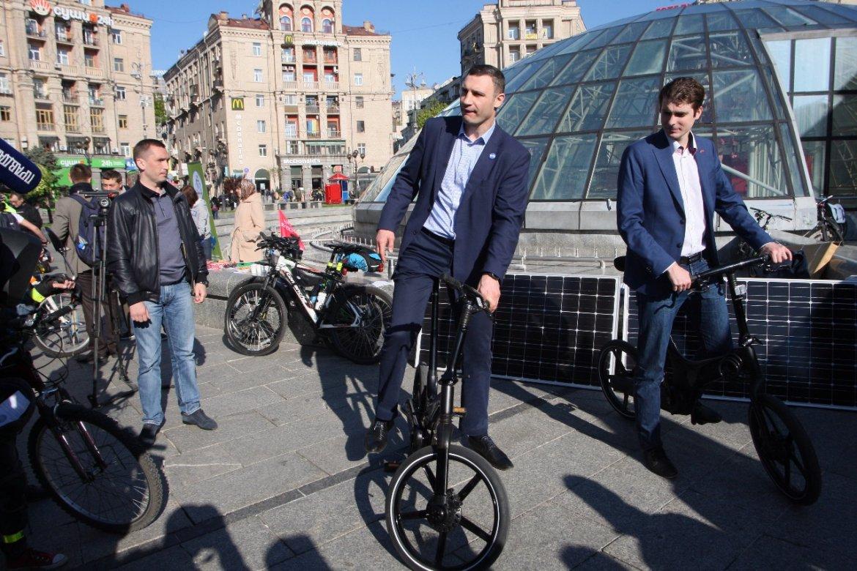 даже кличко и велосипед картинки видом