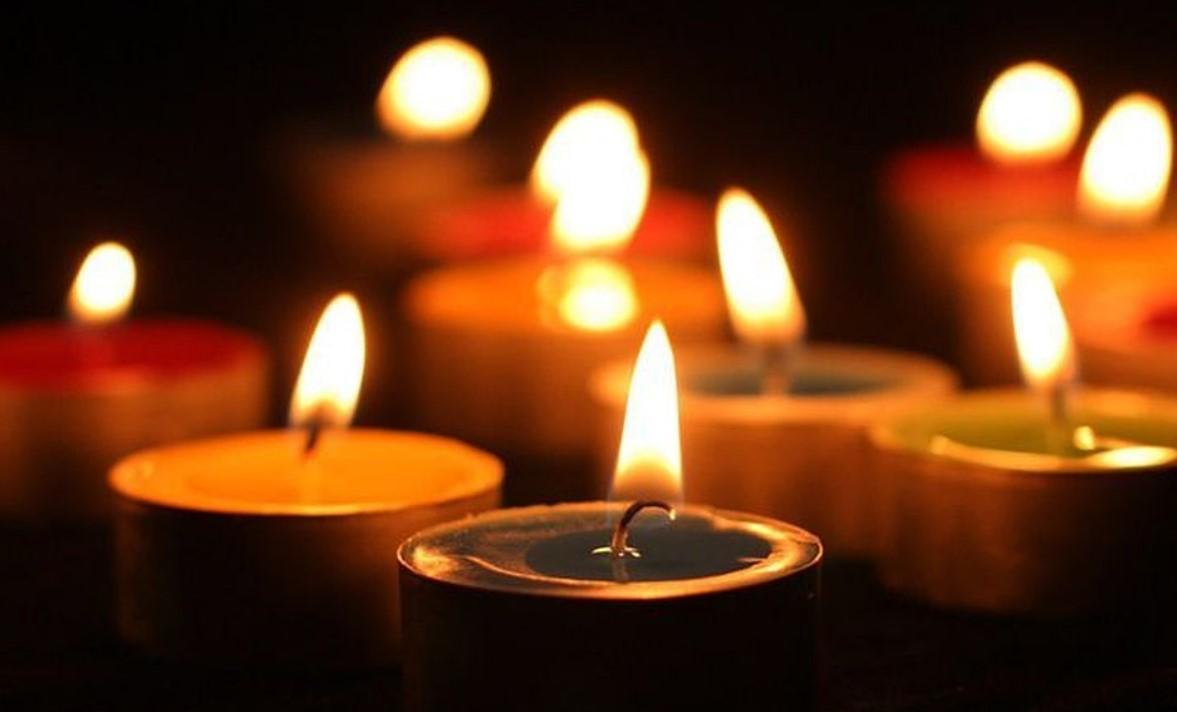 Свечи соболезнования картинки