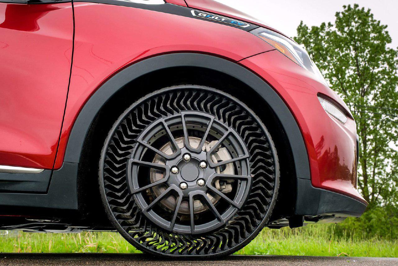 GM и Michelin представили уникальные безвоздушные <b>шины</b> ...