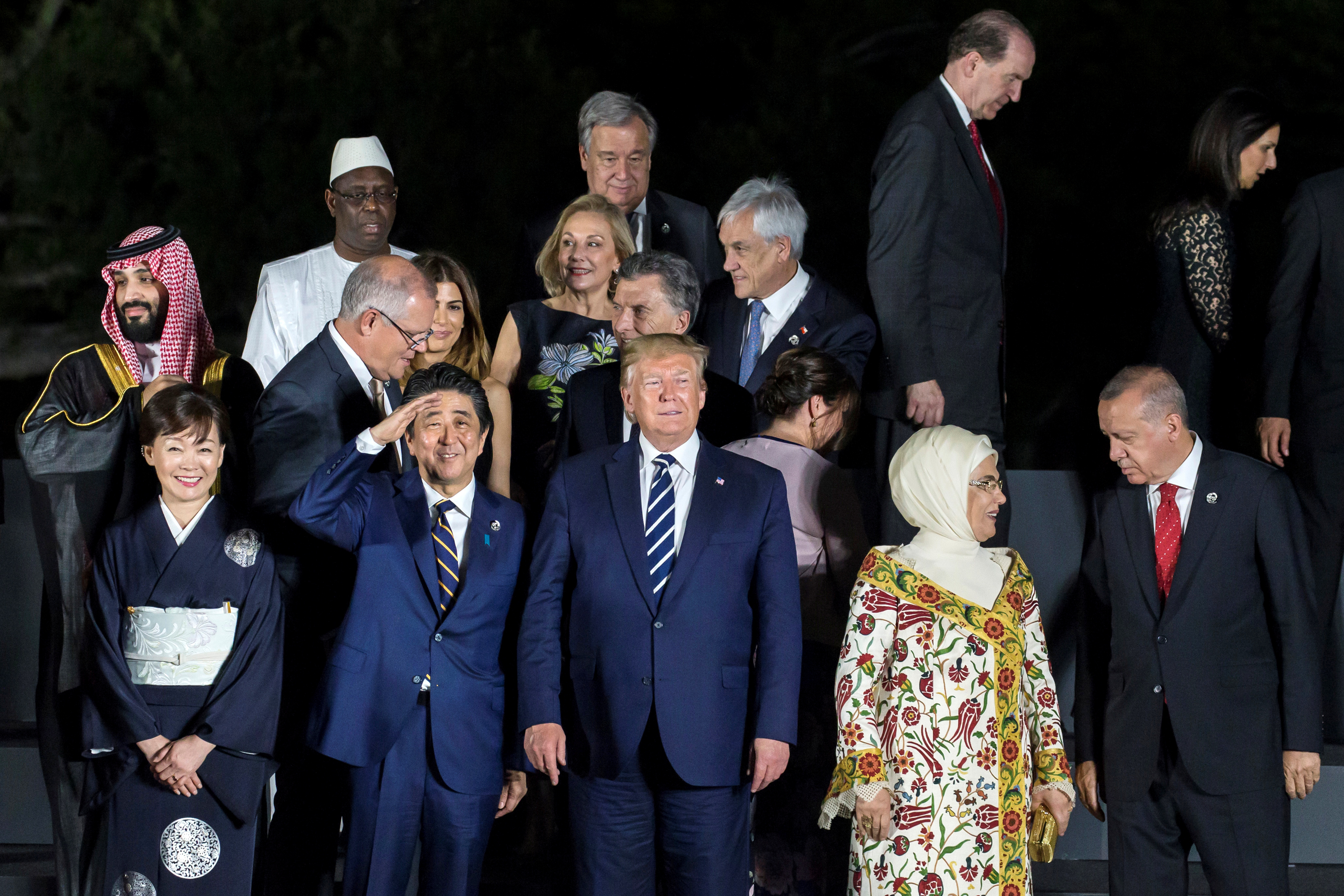 Фотосессия большой двадцатки