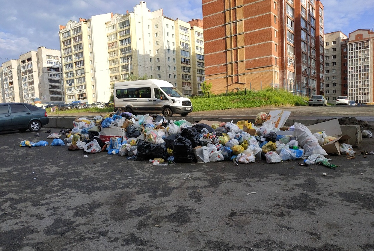 картинка мусор из окна начале