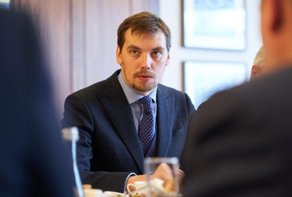 Гончарук сделал заявление после отказа Зеленского принять его отставку