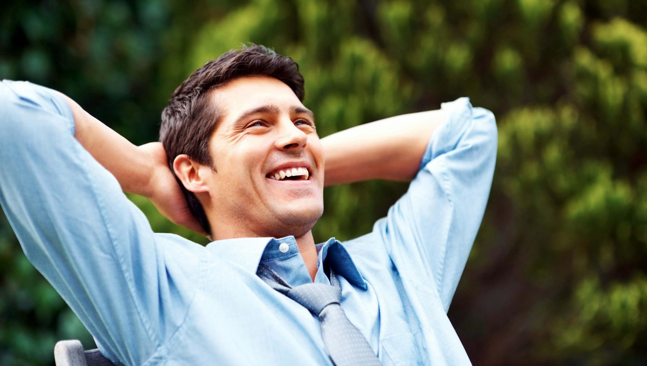 Открытки счастливый мужчина, смешные