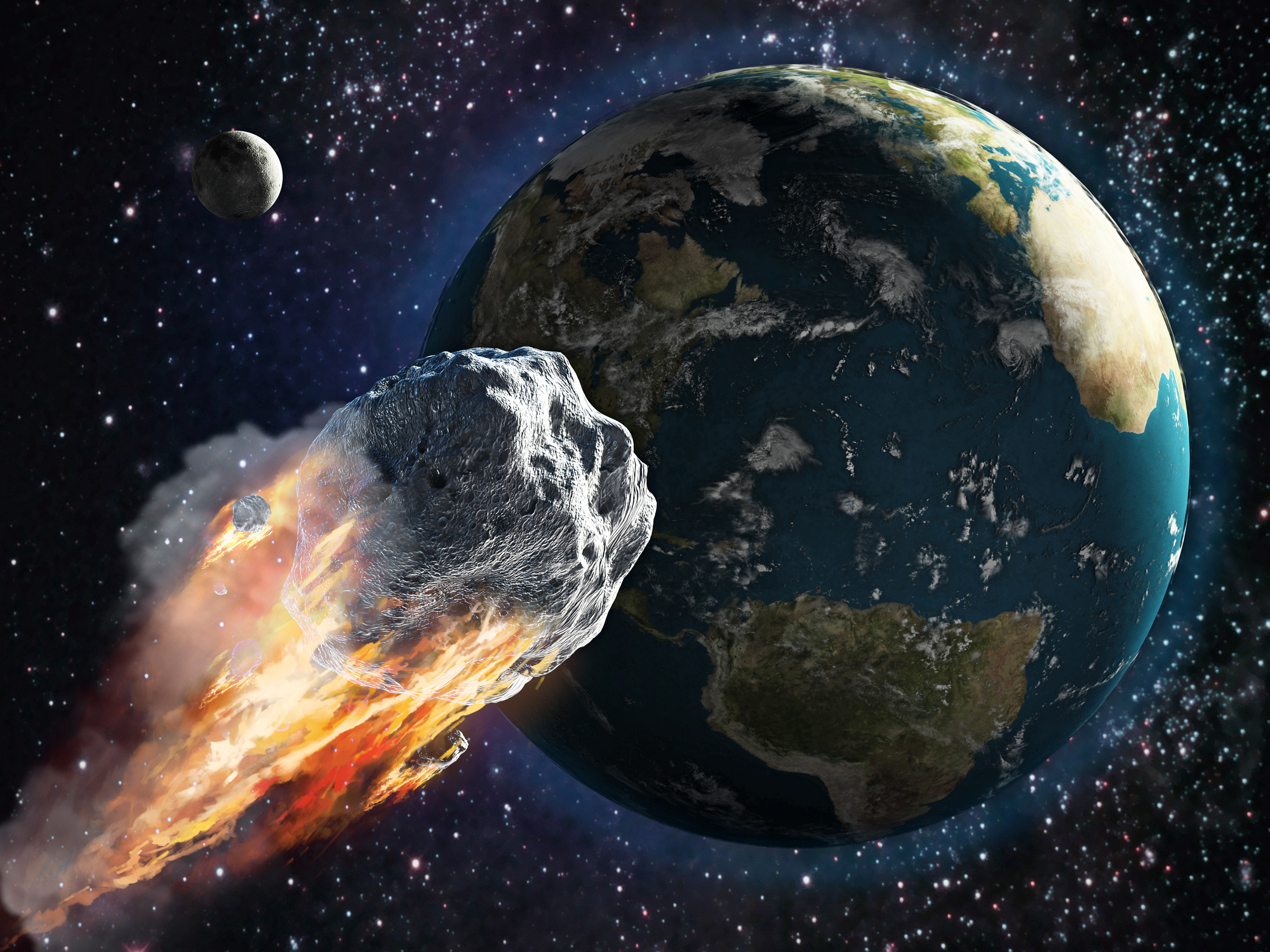 will asteroids hit the earth - HD2000×1500