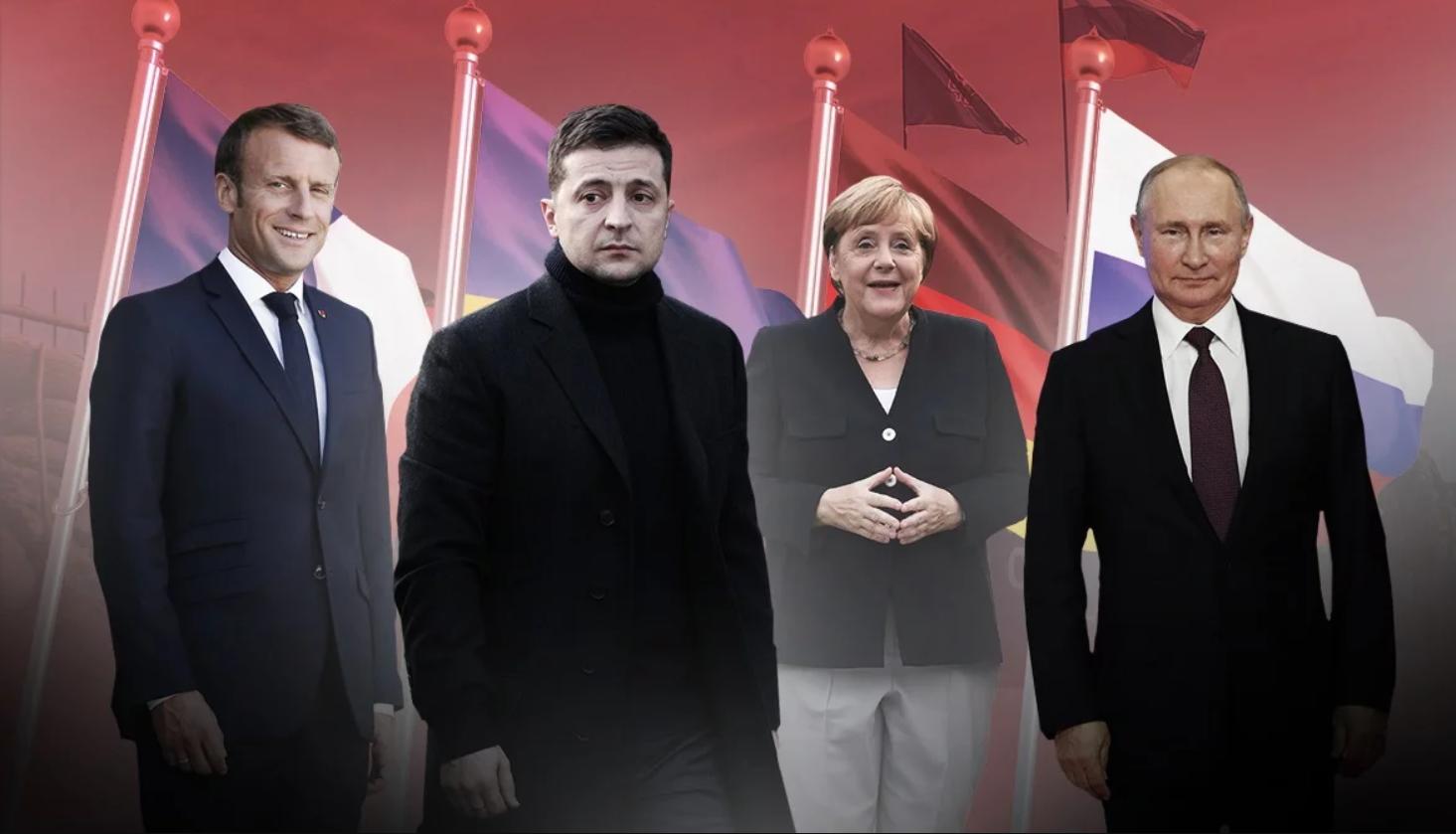 Путин настроен серьезно: в Париже пройдет встреча нормандской четверки