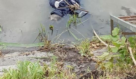 Очевидцы онемели: в Харькове из реки выловили тело мужчины со связанными руками