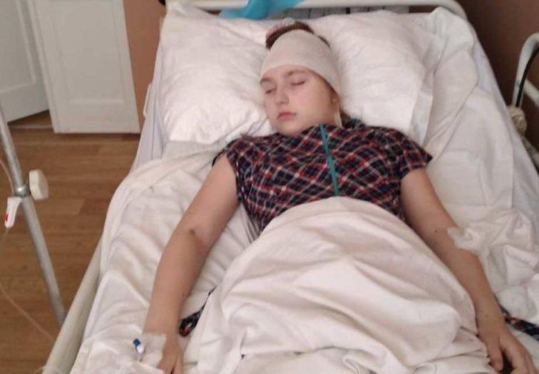 Галлюцинации и сильные боли — рак мозга съедает 11-летнюю украинку, ро