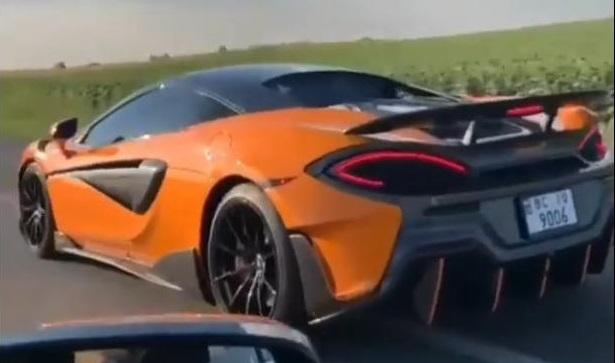 Успешная легализация добычи янтаря и как результат — McLaren на дорогах Киева, очевидцы оторопели от увиденного